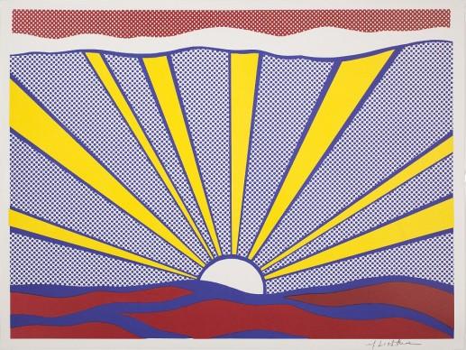Roy Lichtenstein, Sunrise, 1965. Estate of Roy Lichtenstein, Pictoright Amsterdam 2017