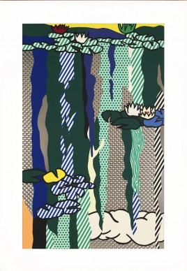 Roy Lichtenstein, Water Lilies with Cloud, 1992