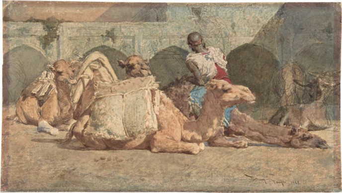 Mariano Fortuny, The Camel Driver, 1865, New York, The Metropolitan Museum of Art