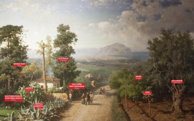 Veduta di Palermo, Francesco Lojacono, 1875, Manifesta 12 Palermo Atlas, 2017, Courtesy of OMA