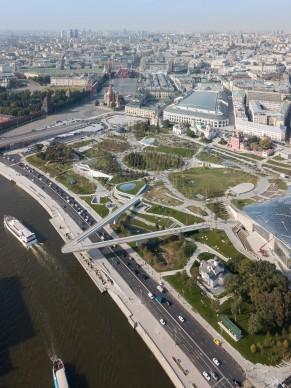 0Zaryadye Park, Mosca. Photography by Iwan Baan -Courtesy Diller Scofidio + Renfro