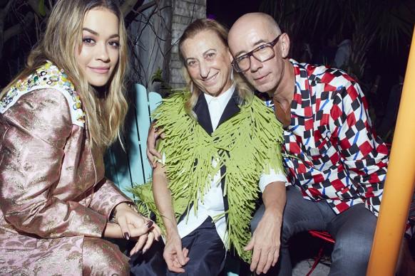 """Rita Ora, Miuccia Prada, Carsten Holler al """"Prada Double Club Miami"""", un progetto di Carsten Höller presentato da Fondazione Prada Miami, 5-7 dicembre 2017"""