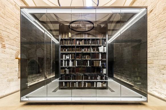 BEYAZIT STATE LIBRARY, Istanbul, Turkey. Courtesy of TABANLIOGLU ARCHITECTS, 2016 © Emre  Dorter
