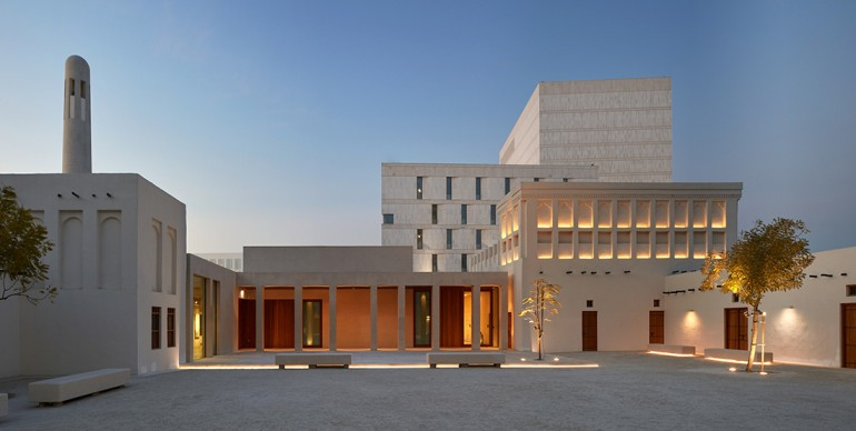 Msheireb Museums, Doha, Qatar. Courtesy of John McAslan + Partners, 2016 © Edmund  Sumner