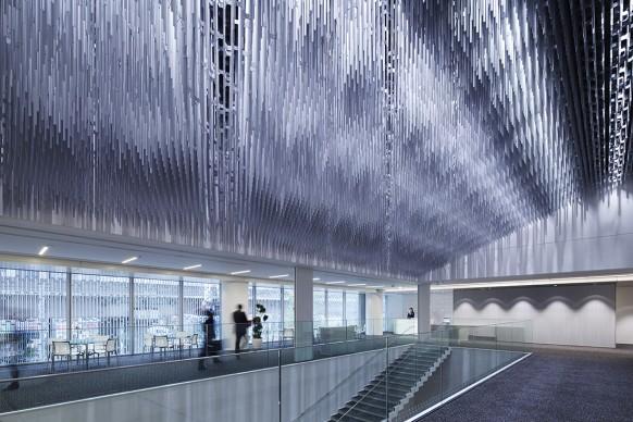 YKK80 Building, Tokyo, Japan. Courtesy of Nikken Sekkei Ltd., 2015 © Forward Stroke