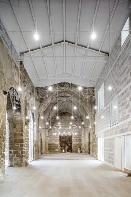 The Ancient Church of Vilanova de la Barca, Spain. Courtesy of AleaOlea architecture & landscape, 2016 © ADRI∑ GOULA