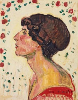 Ferdinand Hodler, Portrait of Valentine Godé-Darel. Leopold Museum, Vienna. Foto Leopold Museum, Vienna /Manfred Thumberger
