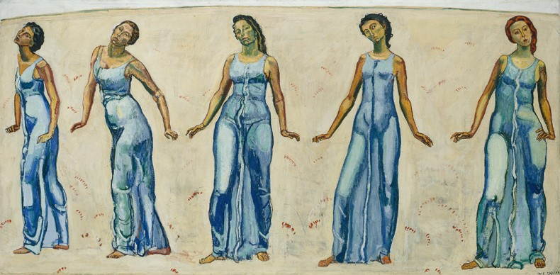 Ferdinand Hodler, A view to infinity, 1913–1916. Private collection Switzerland. Foto: SIK-ISEA, Zürich