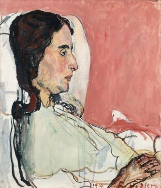 Ferdinand Hodler, Portrait of the sick Valentine Godé-Darel, 1914. Paris, Musée d'Orsay. Foto: RMN-Grand Palais (Paris, musée d'Orsay)/Jean Schorman