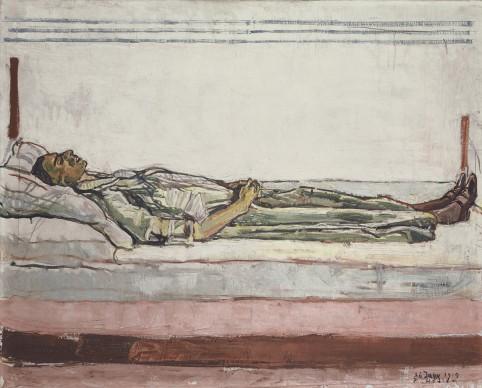Ferdinand Hodler,  Portrait of the deceased Valentine Godé-Darel, 26th January 1915. Rudolf Staechelin Collection. Foto: Sammlung Rudolf Staechelin | Rudolf Staechelin Collection/Martin P. Bühler