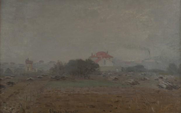 Claude Monet, Effet de Brouillard, 1872