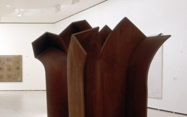 Eduardo Chillida Advice to Space V (Consejo al espacio V), 1993 Steel, 305 x 350 x 350 cm Guggenheim Bilbao Museoa