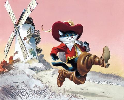 Tony Wolf, Il gatto con gli stivali