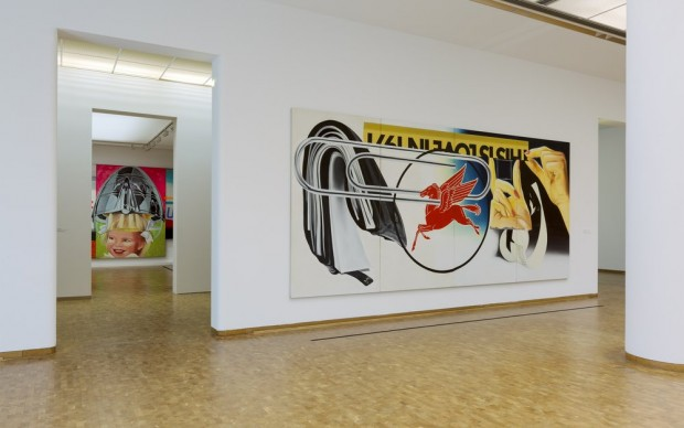 "Installation view ""James Rosenquist: Painting as Immersion"", Museum Ludwig, Cologne, Photo: Rheinisches Bildarchiv Köln, Cologne/ Rico Burgmann"