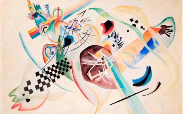 Vassily Kandinsky, On White (I)