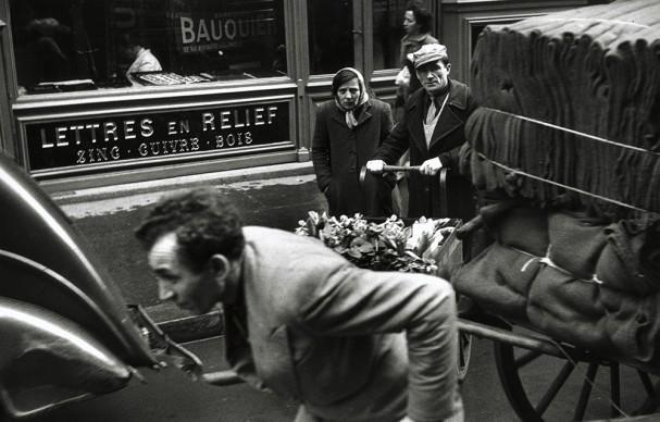 Robert Frank, Paris, 1949 © Robert Frank, The Albertina Museum, Vienna – Dauerleihgabe der Österreichischen Ludwig-Stiftung für Kunst und Wissenschaft