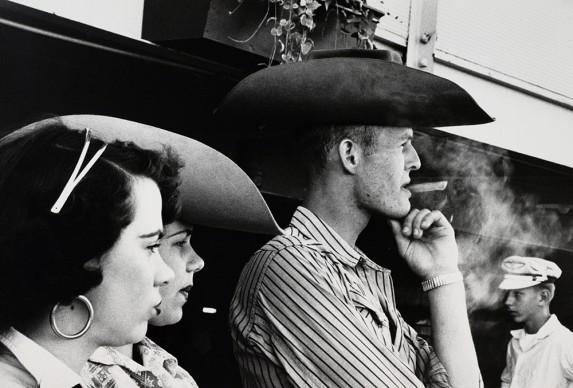 Robert Frank, Rodeo – Detroit, 1955 © Robert Frank, The Albertina Museum, Vienna – Dauerleihgabe der Österreichischen Ludwig-Stiftung für Kunst und Wissenschaft