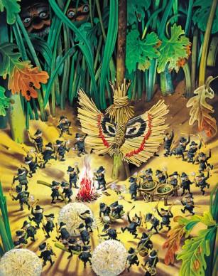 Tony Wolf, Storie del bosco