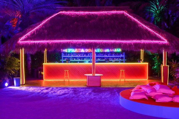 """""""The Prada Double Club Miami"""", un progetto di Carsten Höller presentato da Fondazione Prada Miami, 5-7 dicembre 2017. Foto: Casey Kelbaugh. Courtesy Fondazione Prada"""