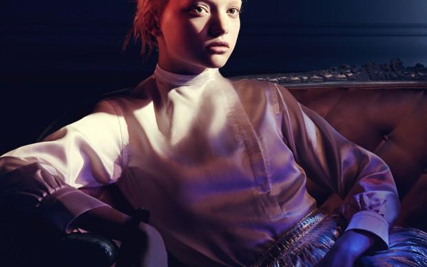 Jil Sander campaign, A/W 2004/2005, model: Gemma Ward © David Sims