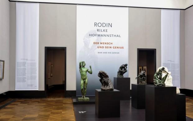 Rodin – Rilke – Hofmannsthal. Man and His Genius, exhibition view all'Alte Nationalgalerie © Nationalgalerie – Staatliche Museen zu Berlin / Andres Kilge