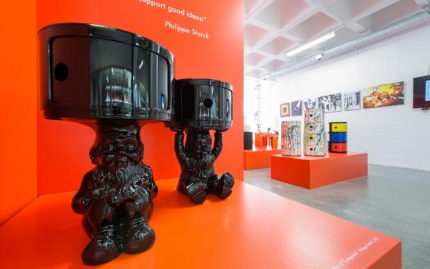 """Installation view della mostra """"A Tribute to Componibili"""", photo by C. Licoppe"""