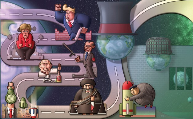 Paolo Decapite (Italia), Humour a Gallarate ‒ International Cartoon Contest, 2018