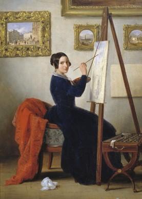 Angelo Inganni, Veduta di Piazza della Loggia, 1879, olio su tela, 136 x 96 cm