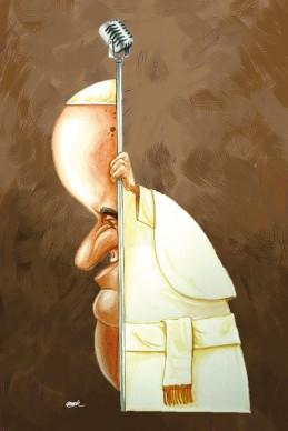 Omar Zevallos Velarde (Peru) Humour a Gallarate ‒ International Cartoon Contest, 2018