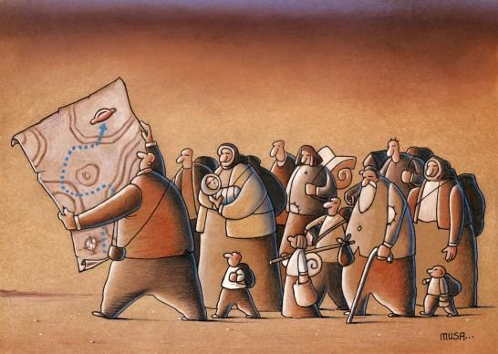 Musa Gumus (Turchia), Humour a Gallarate ‒ International Cartoon Contest, 2018
