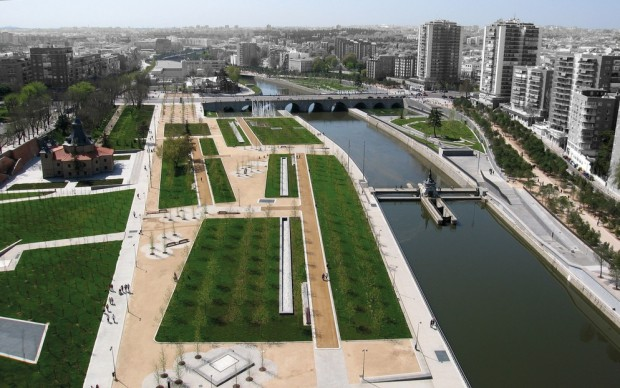 Madrid Rio, Madrid. Photo: courtesy of the authors of the project