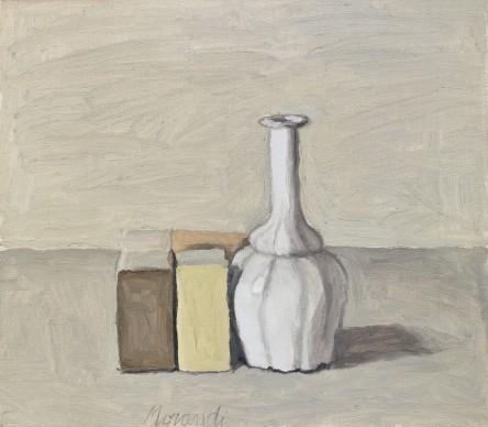 Giorgio Morandi, Natura morta, 1952, olio su tela, 40 x 55 cm