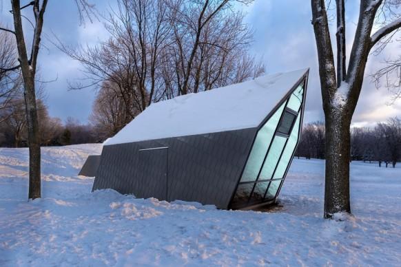 Atelier Urban Face, Mount-Royal Kiosks, Canada. Photo by Fany Ducharme