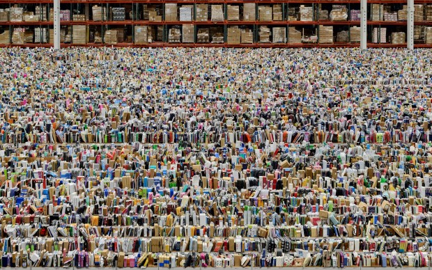 Amazon by Andreas Gursky, 2016. Photograph: Andreas Gursky/DACS, 2017; courtesy: Sprüth Magers