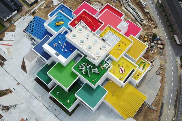 BIG - Bjarke Ingels Group, Lego House. Photo by Kim Christensen