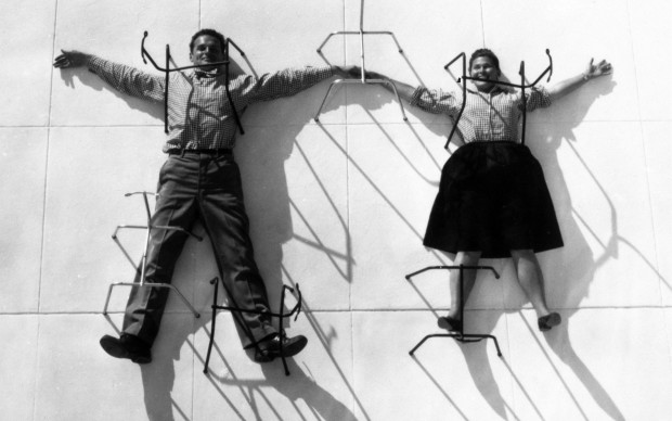 "Charles e Bernice Alexandra Kaiser Eames, meglio conosciuta come ""Ray"" Eames"