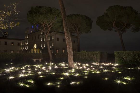 Christian Boltanski per Ouvert la nuit, Villa Medici, Roma, 2017-2018. Photo @ Daniele Molajoli