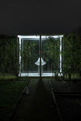 Elmgreen & Dragset per Ouvert la nuit, Villa Medici, Roma, 2017-2018. Photo @ Daniele Molajoli