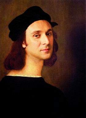 Francesco Vezzoli, Self-Portrait as a Self-Portrait (After Raffaello Sanzio), 2013. Led-Lightbox, cornice d'artista. Courtesy l'artista. Foto: Alessandro Ciampi