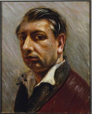 Giorgio de Chirico, Autoritratto, 1931, olio su cartone. Collezione privata, Bergamo, foto: Studio Fotografico Luca Carrà © Giorgio de Chirico by SIAE 2017