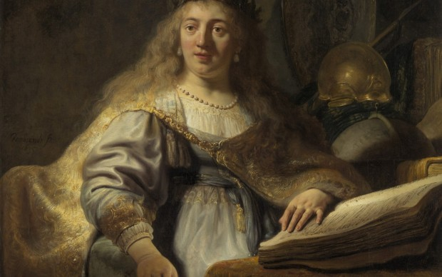 """Rembrandt van Rijn (Leiden 1606 – 1669 Amsterdam) 1635 oil on canvas 138 x 116.5 cm signed and dated in dark paint, centered along left edge: """"Rembrandt. f 1635"""" RR-107 Currently on view at: Long Museum, Shanghai"""