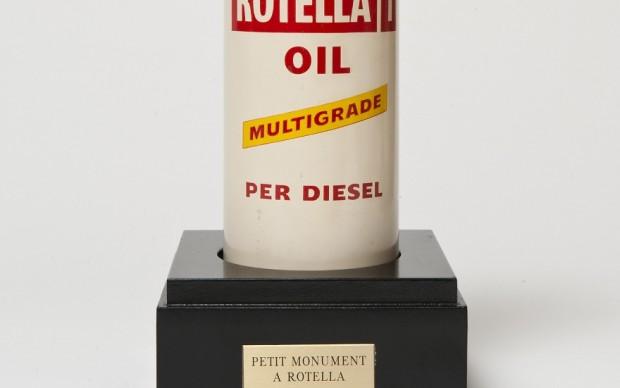 Mimmo Rotella, Petit Monument à Rotella, 1961, ready.made