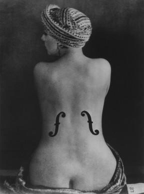 Man Ray, Violon d'Ingres, 1924 (1990) Courtesy Galerie Johannes Faber © MAN RAY TRUST/Bildrecht, Wien, 2016