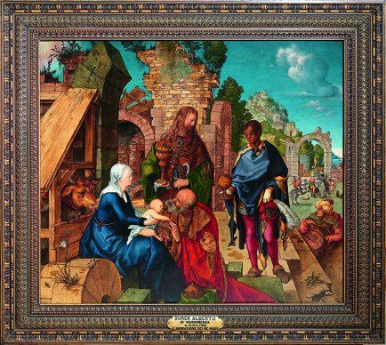 Albrecht Dürer, Adorazione dei Magi, 1504, Galleria degli Uffizi © Gabinetto Fotografico delle Gallerie degli Uffizi