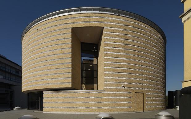Mario Botta, Teatro dell'architettura, Mendrisio, foto Enrico Cano