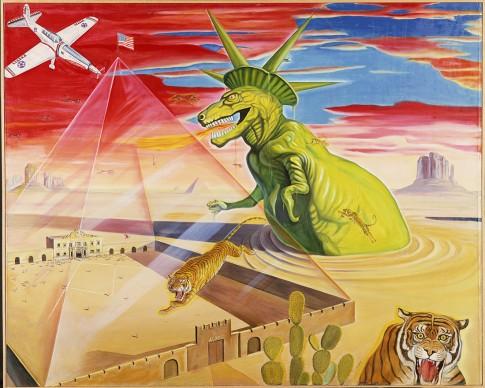 Tiger Tateishi, Sphinx of Alamo, 1966