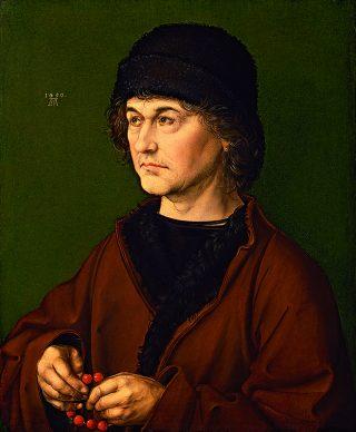 Albrecht Dürer, Ritratto di Albrecht Dürer il Vecchio, 1490, Galleria degli Uffizi © Gabinetto Fotografico delle Gallerie degli Uffizi