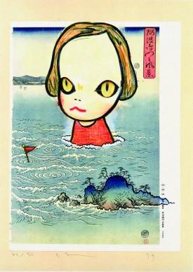 Yoshimoto Nara, Ocean Child (in the floating world), 1999
