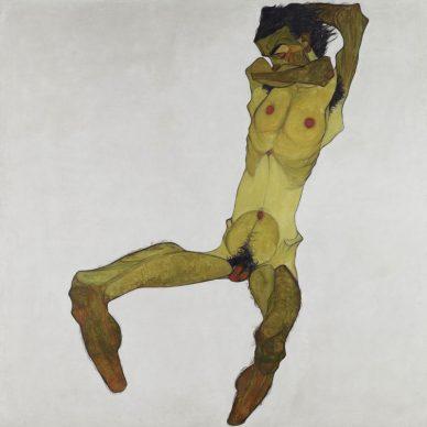 Egon Schiele, Seated Male Nude (Self-Portrait) © Leopold Museum, Vienna