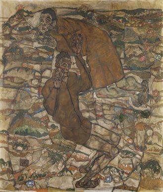Egon Schiele, Levitation (The Blind ll), 1915 © Leopold Museum, Vienna